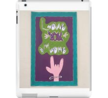 Love you more! iPad Case/Skin