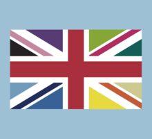 Union Jack (Multi Coloured) Kids Tee