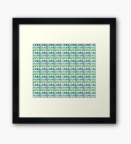 Mexican Pattern Framed Print