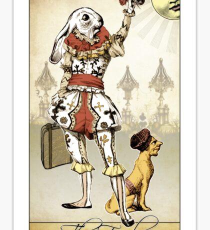 The Major Arcana - The Fool Sticker