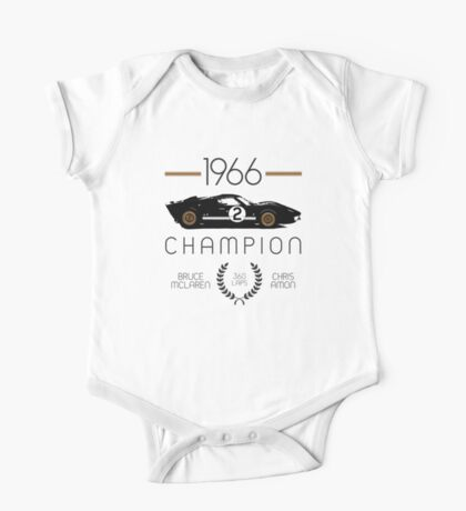 1966 Champion One Piece - Short Sleeve