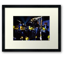 Time to party like a pirate Framed Print