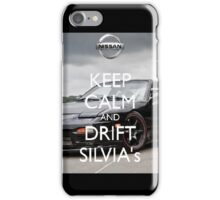 Keep Calm-Nissan Silvia Case iPhone Case/Skin