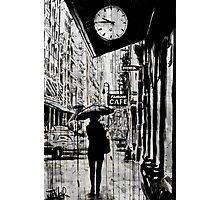 new york walk Photographic Print