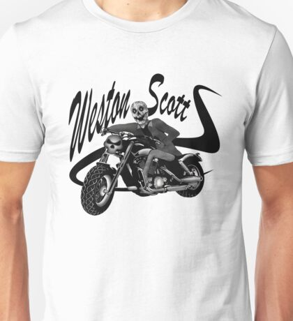 Weston Scott Clothing and Stickers Unisex T-Shirt
