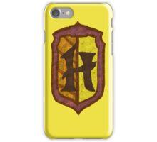 Hufflepuff House Crest 2 iPhone Case/Skin