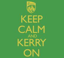 Keep Calm & Kerry On (clean) Kids Tee
