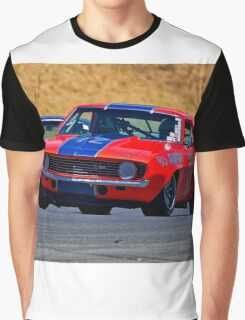 1969 Camaro Z28 Trans Am Racecar Graphic T-Shirt