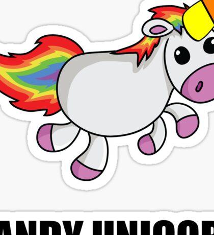 Candy Unicorn Sticker