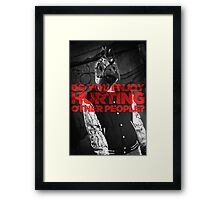 Hotline Miami: Do You Enjoy Hurting Other People? Framed Print