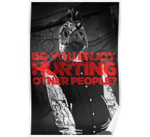Hotline Miami: Do You Enjoy Hurting Other People? Poster