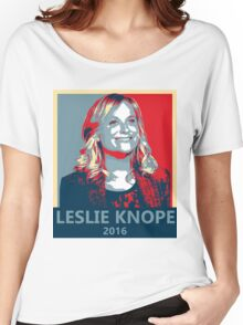 Leslie Knope for President 2016 Women's Relaxed Fit T-Shirt