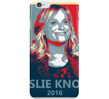 Leslie Knope for President 2016 iPhone Case/Skin
