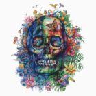 tropical skull by BekimART