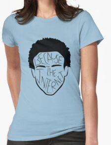 Because The Internet - Black Womens T-Shirt