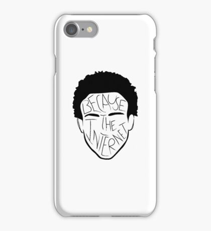 Because The Internet - Black iPhone Case/Skin