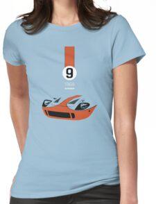 1968 Race Winning #9 Racecar Womens Fitted T-Shirt