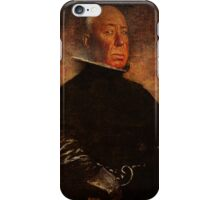 Alfred vintage iPhone Case/Skin