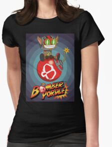 Bomber Yordle Womens Fitted T-Shirt