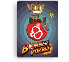 Bomber Yordle Canvas Print