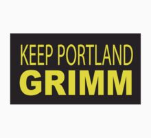Keep Portland GRIMM by BikiniKitty