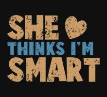 SHE thinks I'm smart with matching he thinks I'm smart by jazzydevil