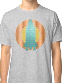 sun striped rocket Classic T-Shirt