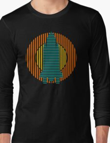 sun striped rocket Long Sleeve T-Shirt
