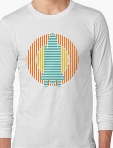 sun striped rocket Long Sleeve T-Shirt