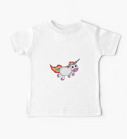 Cute Cartoon Unicorn Baby Tee