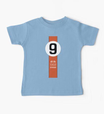 1968 Race Winner #9 Racing livery Baby Tee