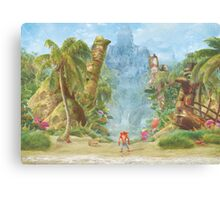 Sanity Beach (40 left!) Canvas Print