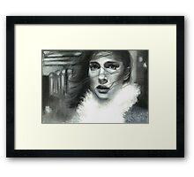 Soluble Framed Print