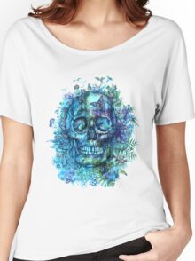 tropical skull 2 Women's Relaxed Fit T-Shirt