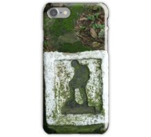Mossy Trail Marker, Hong Kong  iPhone Case/Skin