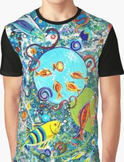 Fish Party Graphic T-Shirt