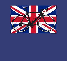 Bike Flag United Kingdom (Big - Highlight) Unisex T-Shirt