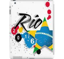rio 2016 iPad Case/Skin