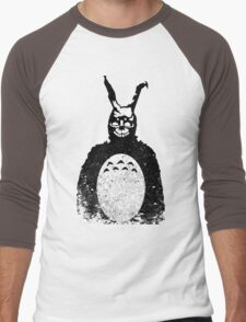 Donnie Darko Totoro Mash Up Men's Baseball ¾ T-Shirt