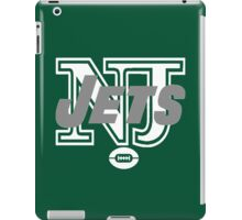 NJ JETS iPad Case/Skin