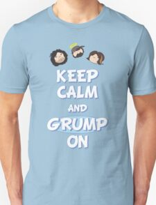 Game Grumps - Keep Calm And Grump On Unisex T-Shirt