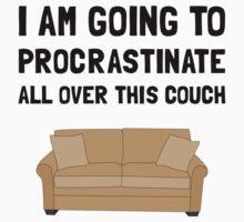 Procrastinate Couch Kids Tee