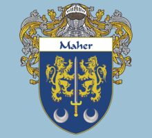 Maher Coat of Arms/Family Crest Kids Tee