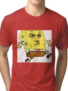 Frank Castle Spongebob Tri-blend T-Shirt