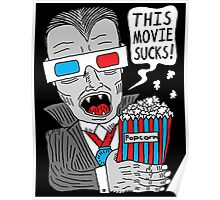 """""""This movie sucks - T-shirts and more!"""" Poster"""
