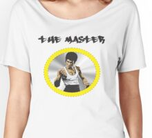 Bruce Lee The Master  Women's Relaxed Fit T-Shirt