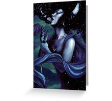 The Queen of the Night Greeting Card