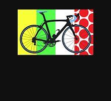 Bike Tour de France Jerseys (Vertical) (Big - Highlight)  T-Shirt