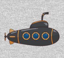 Submarine Cartoon One Piece - Short Sleeve