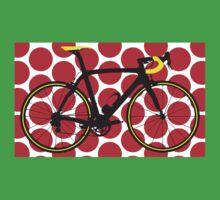 Bike Red Polka Dot (Big - Highlight) One Piece - Short Sleeve